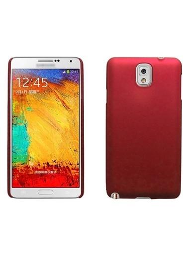 Microsonic Premium Slim Galaxy Note 3 Kılıf Kırmızı Renkli